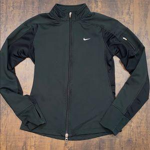 Black Nike warm up jacket, size small